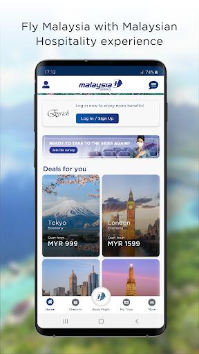 Malaysia Airlines 10.7.9 screenshots 1