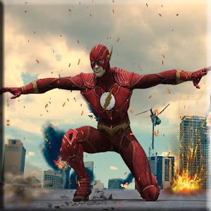 Flash Boy Hero Lightning Strike