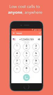 FooCall - low cost calls- screenshot thumbnail