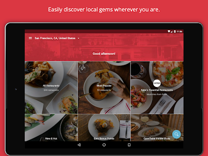 OpenTable: Restaurants Near Me Screenshot 8