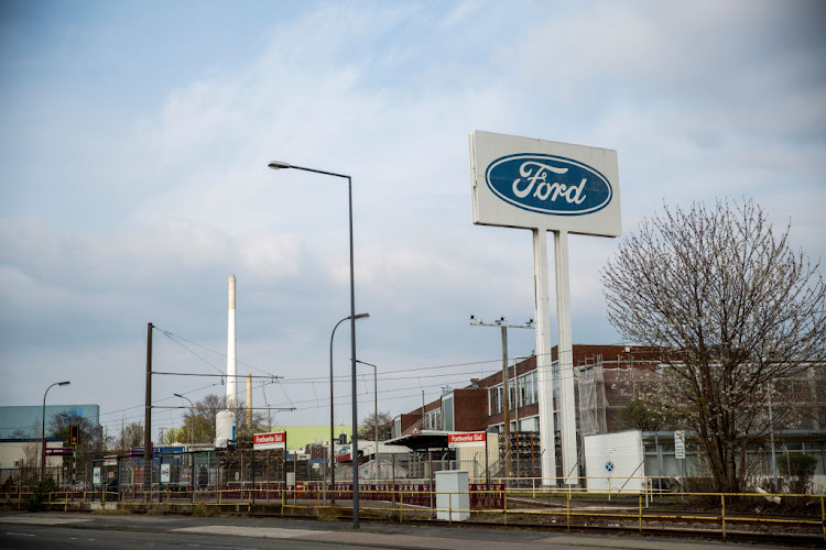 Ford's production plant in Cologne, Germany, is one of many the automaker is being forced to idle due to the ongoing semiconductor shortage.