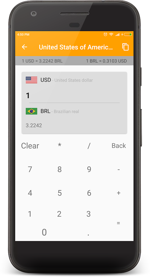 currency converter & calculat- screenshot