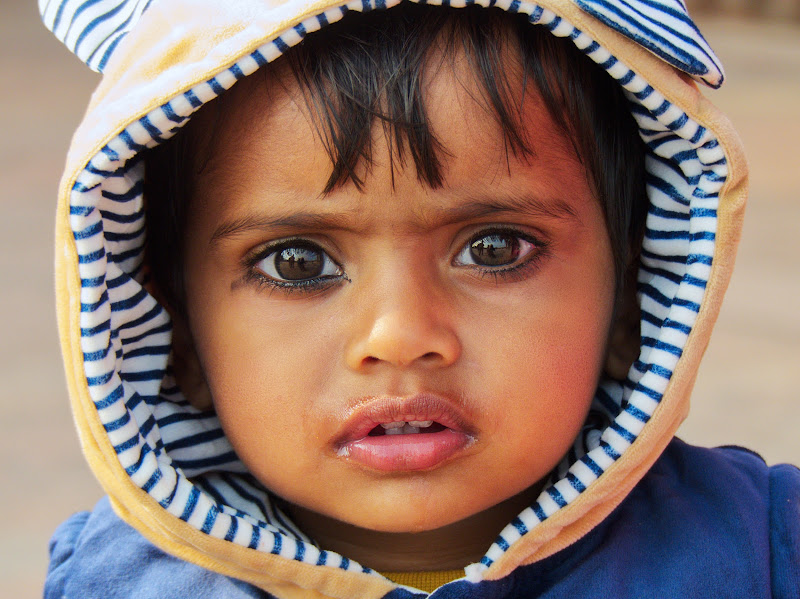 Rajasthan, occhi di bimbo di silviola