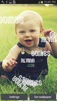 My Name Live Wallpaper - screenshot thumbnail 01