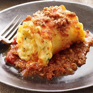 Creamy Lasagna Roll-Ups.