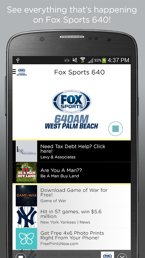 Fox Sports 640- screenshot