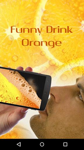 Funny Drink Orange