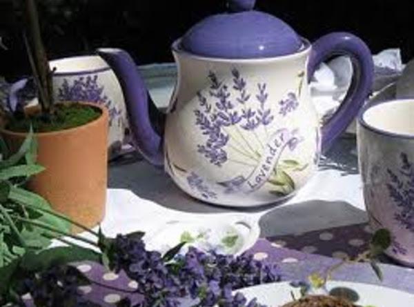 Susan's Lavender Iced Tea Recipe