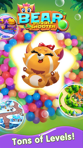 Bubble Shooter : Bear Pop! - Bubble pop games apktram screenshots 5