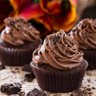 Whipped Chocolate Buttercream Frosting.