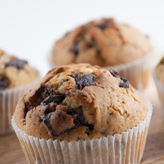 Never-Come-Empty-Handed Chocolate Chunk Muffins