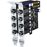 RME 4-Channel, 192 khz Analog output expansion board.
