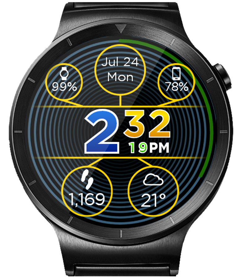 Face-FX HD Watch Face- screenshot