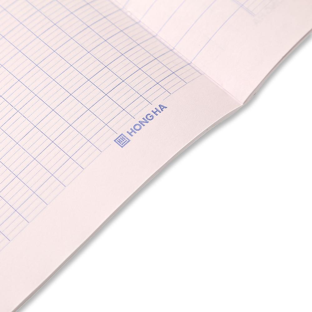 Mẫu giấy vở 4 ly ngang 200 trang South Star Monokuro Boo