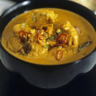 Creamy Mild Chicken Curry.