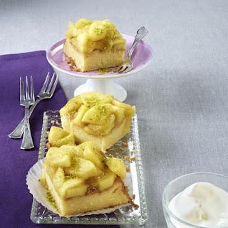 Apple Rice Pudding Cake.