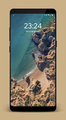[Substratum] Transparent Lockscreen for SAMSUNG 5 screenshots 1