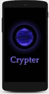 Crypter - náhled