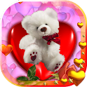 Teddy Valentine Free LWP icon