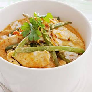 Thai Red Chicken Curry.
