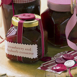 Strawberry and Rhubarb Conserve