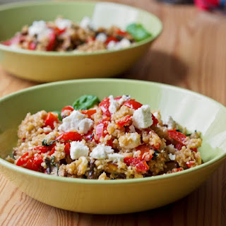 Mediterranean Quinoa with Peppers and Feta Recipe