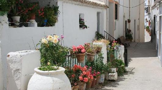 Imagen de una de las típicas calles de Serón.