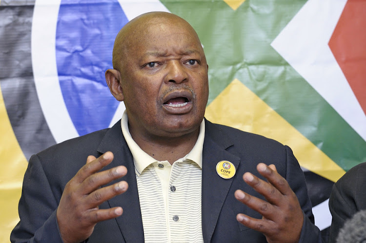 Congress of the People leader Mosiuoa Lekota. Picture: RUSSELL ROBERTS