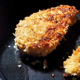Quick and Crispy Chicken Cutlets.