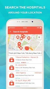 Med Locat - Hospital Locator screenshot 4