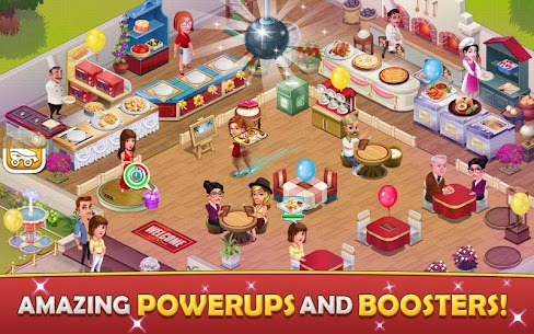 Cafe Tycoon MOD APK 4.3 [Unlimited Gems + Unlimited Coins] 4