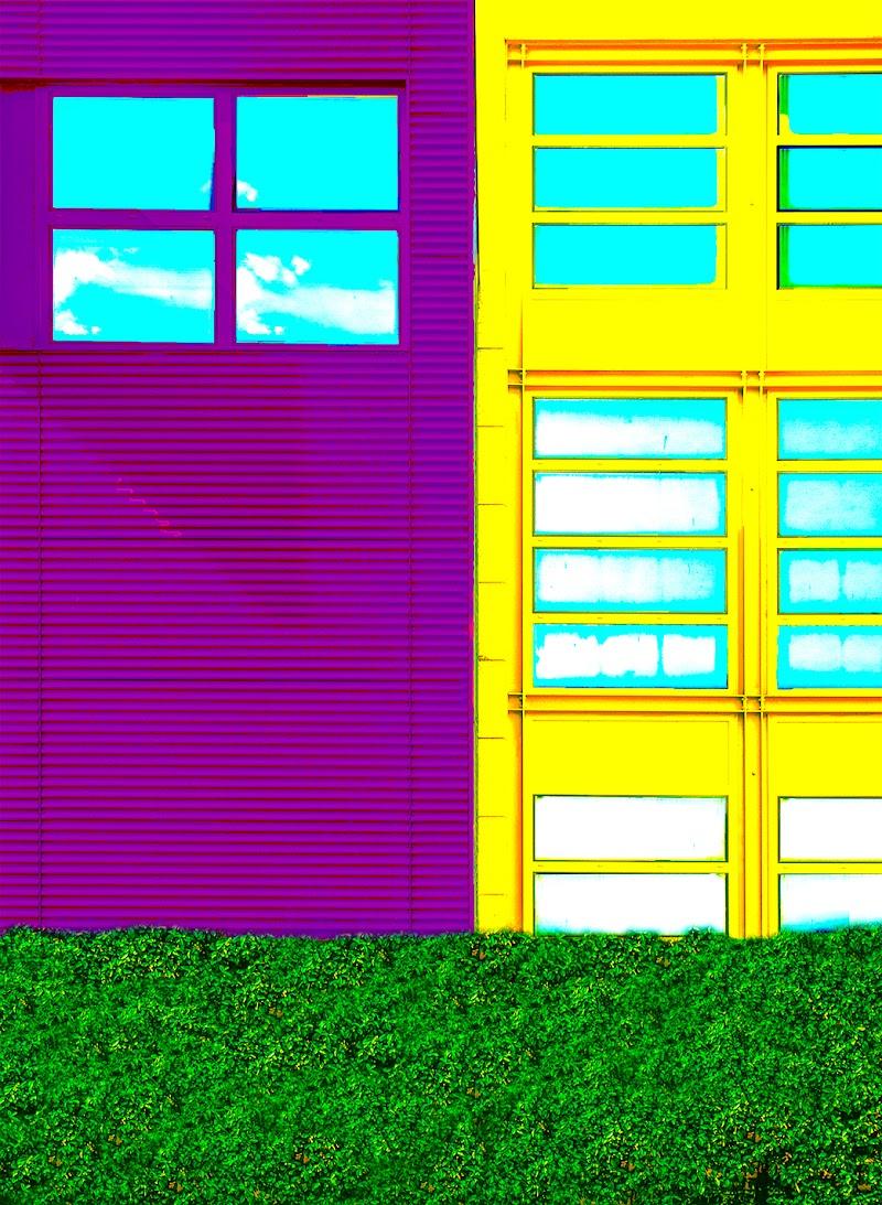 purple geometries  di Saltini Rino