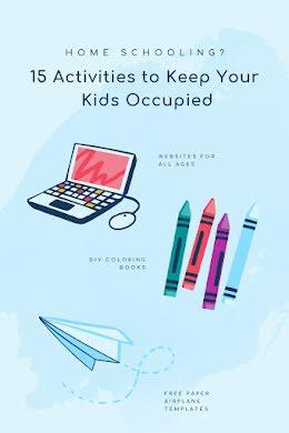Home-School Activities - Pinterest Pin item