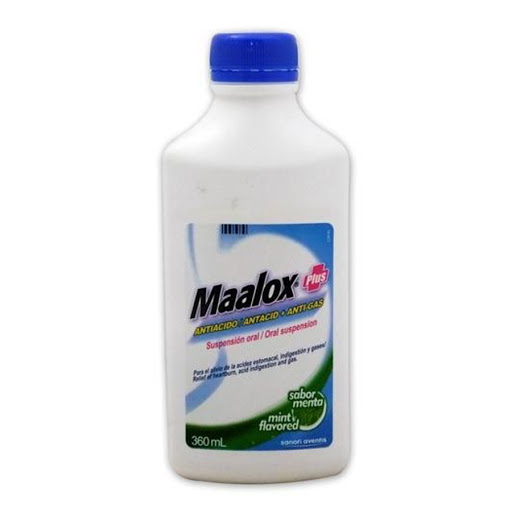 maalox plus menta 180ml