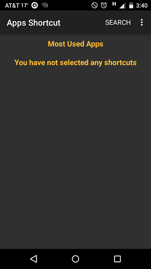 Apps Shortcut- screenshot