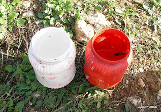 Photo: Boyaları hazırlıyoruz. Zeytinköy - Yoncaköy arası. EFES-MİMAS (İYON) YOLU 3. Etabı - 01.12.2015 (Zeytinköy-Yoncaköy-Notion-Claros arası)