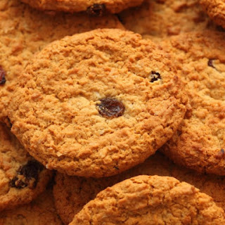 Molasses Oatmeal Raisin Cookies.