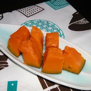 Dashi simmered Pumpkin