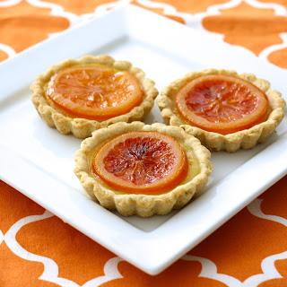 Fresh Orange & Thyme Tartlets