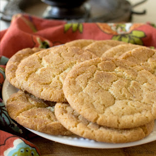 Brown Butter Snickerdoodle Cookies Old-Fashioned Goes Gourmet