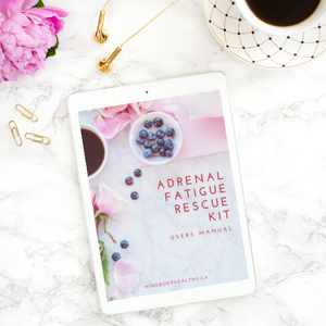 Adrenal Fatigue Rescue Kit