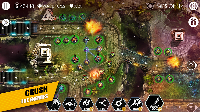 Tower Defense: Invasion HD v1.12 [Mod]