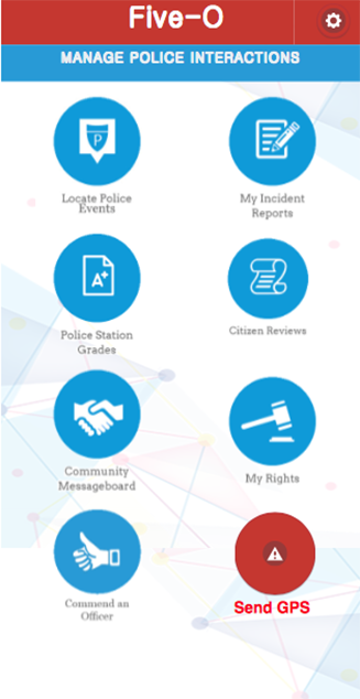 Five-O Police Rating App 1.3- screenshot
