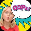 Speech bubbles for photos icon