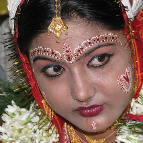 by Debasish Bhadra - Wedding Bride
