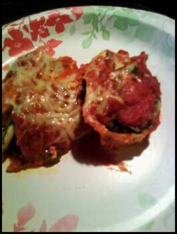 Dana's Healthy Stuffed Shells Recipe