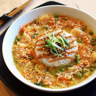 Cheesecake Factory Bang-Bang Chicken and Shrimp
