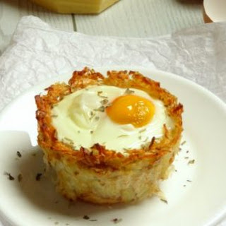 Monte Cristo Hash Brown Breakfast Egg Cups