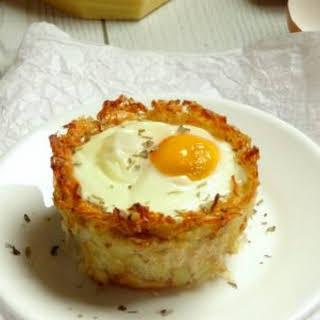 Monte Cristo Hash Brown Breakfast Egg Cups.