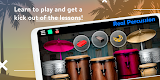 screenshot of REAL PERCUSSION: Electronic Percussion Kit
